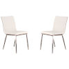 This item: Café White Dining Chair, Set of Two