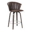 This item: Connie Brown and Chrome 26-Inch Counter Stool