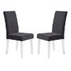 This item: Dalia Black Dining Chair, Set of Two