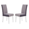 This item: Dalia Gray Dining Chair, Set of Two