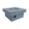 This item: Marquee Gray Outdoor Patio Fire Pit