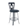 This item: Lola Matte Black 30-Inch Bar Stool