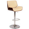 This item: London Cream and Walnut 33-Inch Bar Stool