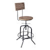 This item: Magnus Industrial Gray 30-Inch Bar Stool