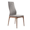 This item: Parker Gray with Walnut Dining Chair, Set of Two