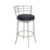 This item: Viper Black and Stainless Steel 30-Inch Bar Stool