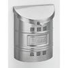 This item: Polished Stainless Steel Large Mailbox with Steel Label