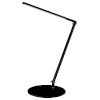 This item: Z-Bar Metallic Black LED Solo Desk Lamp with Two-Piece Desk Clamp