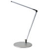 This item: Z-Bar Silver LED Solo Desk Lamp with Two-Piece Desk Clamp