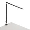 This item: Z-Bar Metallic Black Warm Light LED Solo Desk Lamp with One-Piece Desk Clamp