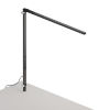 This item: Z-Bar Metallic Black Warm Light LED Solo Desk Lamp with Through-Table Mount
