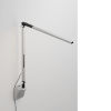 This item: Z-Bar Silver LED Solo Mini Desk Lamp with Wall Mount