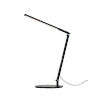 This item: Z-Bar Metallic Black Warm Light LED Solo Mini Desk Lamp with Two-Piece Desk Clamp