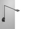 This item: Mosso Metallic Black LED Pro Desk Lamp with Hardwired Wall Mount