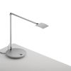 This item: Mosso Silver LED Pro Desk Lamp with Power Base