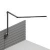 This item: Z-Bar Metallic Black LED Desk Lamp with Slatwall Mount