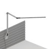 This item: Z-Bar Silver LED Desk Lamp with Slatwall Mount