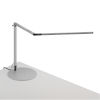 This item: Z-Bar Silver LED Desk Lamp with Usb Base