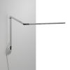 This item: Z-Bar Silver Warm Light LED Desk Lamp with Wall Mount