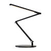 This item: Z-Bar Metallic Black LED Mini Desk Lamp with  Two-Piece Desk Clamp