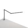 This item: Z-Bar Metallic Black LED Mini Desk Lamp with  Grommet Mount