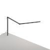 This item: Z-Bar Metallic Black LED Mini Desk Lamp with  Through-Table Mount