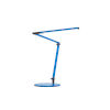 This item: Z-Bar Blue LED Desk Lamp with Two-Piece Desk Clamp