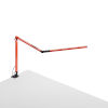 This item: Z-Bar Orange LED Desk Lamp with One-Piece Desk Clamp