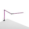 This item: Z-Bar Purple LED Desk Lamp with One-Piece Desk Clamp