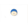 This item: Gravy Chrome Matte Blue LED Plug-In Wall Sconce