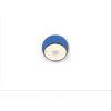 This item: Gravy Metallic Black Matte Blue LED Hardwire Wall Sconce