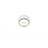 This item: Gravy Metallic Black Matte White LED Hardwire Wall Sconce