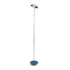 This item: Royyo Chrome and Azure LED Floor Lamp