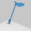 This item: Splitty Matte Pacific Blue LED Desk Lamp with Grommet Mount