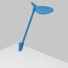 This item: Splitty Matte Pacific Blue LED Desk Lamp