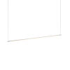 This item: Z-Bar Silver 48-Inch LED Pendant