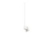 This item: Z-Bar Matte White Soft Warm LED End Mount Wall Sconce
