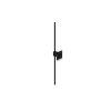 This item: Z-Bar Matte Black Soft Warm LED Wall Sconce