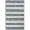 This item: Liora Manne Carmel Navy 4 Ft. 10 In. x 7 Ft. 6 In. Stripe Indoor/Outdoor Rug