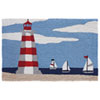 This item: Frontporch Natural Rectangular 30 In. x 48 In. Lighthouse Outdoor Rug