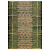 This item: Marina Saffron Rectangular 4 Ft. 10 In. x 7 Ft. 6 In. Tribal Stripe Outdoor Rug