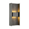 This item: Scotsman Graphite Two-Light LED Wall Sconce