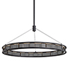 This item: Fuze Modern Bronze 38-Inch LED Pendant