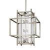 This item: Crosby Antique Silver 12-Light Pendant