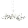 This item: Aubrey Gesso White Six-Light Chandelier