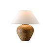 This item: Calabria Reggio Table Lamp with Linen shade