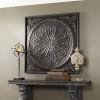 This item: Ottavio Black and Brown 44H x 44W-Inch Wall Art