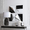 This item: Origami Black and White 16-Inch Metal Wall Decor, Set of 4