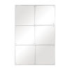 This item: Eldred Silver 37-Inch Rectangular Wall Mirror