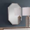 This item: Stuartson Brushed Nickel 20-Inch Vanity Mirror